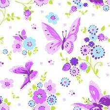 Servett Papstar Beautiful Butterfly 3-Lagers 33x33cm 20st