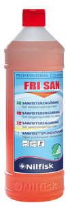 Sanitetsrent Nilfisk Fri San 1L