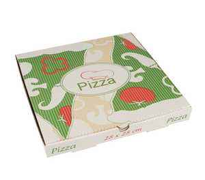 Pizzakartong Papstar Pure Cellulose Kantig 28x28x3cm 100st
