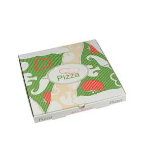 Pizzakartong Papstar Pure Cellulose Kantig 30x30x3cm 100st