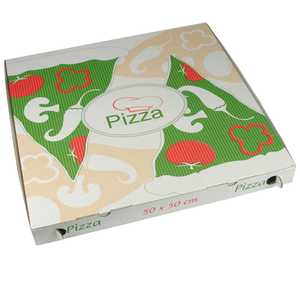 Pizzakartong Papstar Pure Cellulose Kantig 50x50x5cm 50st