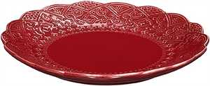 Assiett Cult Design Orient Cranberry Röd