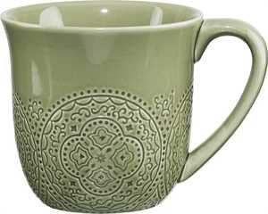 Kaffemugg Cult Design Orient Pesto 3dl